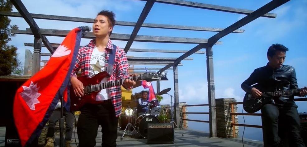 गायक मनिष लामाको राष्ट्रिय गीत सम्झन्छु मेरी आमा म्युजिक भिडियो सार्वजनिक