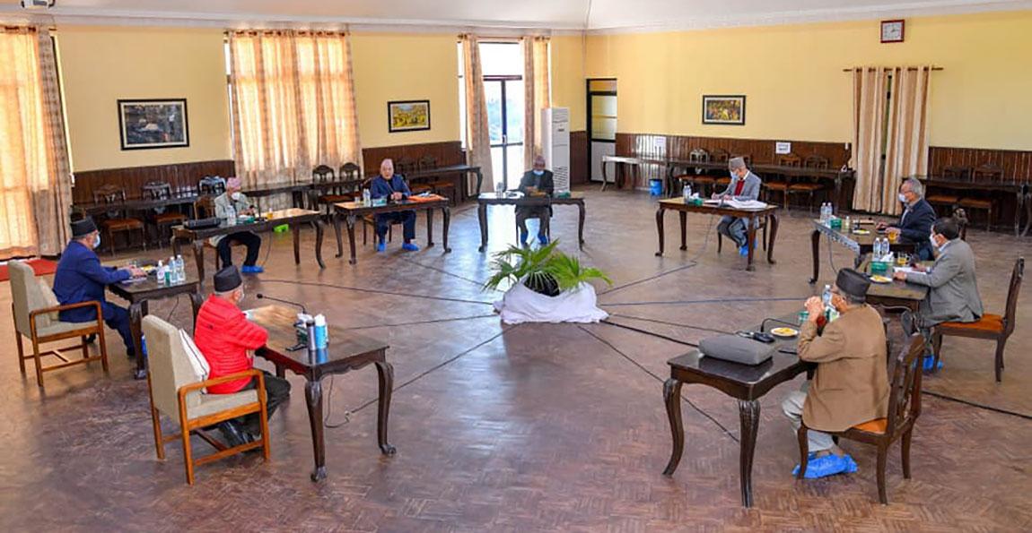 नेकपा सचिवालय बैठक २० गतेसम्मका लागि स्थगित