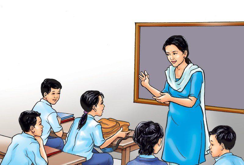 कक्षा ११ मा पुरानै कोर्स पढाउँदै विद्यालय