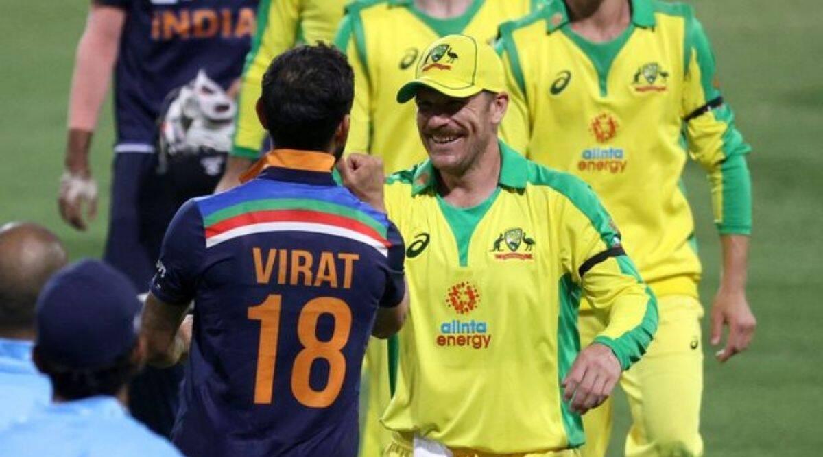 टी–२० क्रिकेट सिरिजको पहिलो खेलमा अष्ट्रेलियालाई भारतको १६२ रनको लक्ष्य