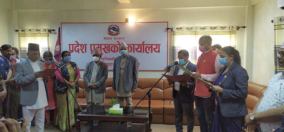 लुम्बिनी प्रदेशका मुख्यमन्त्री शंकर पोखरेलविरुद्ध अविश्वासको प्रस्ताव दर्ता