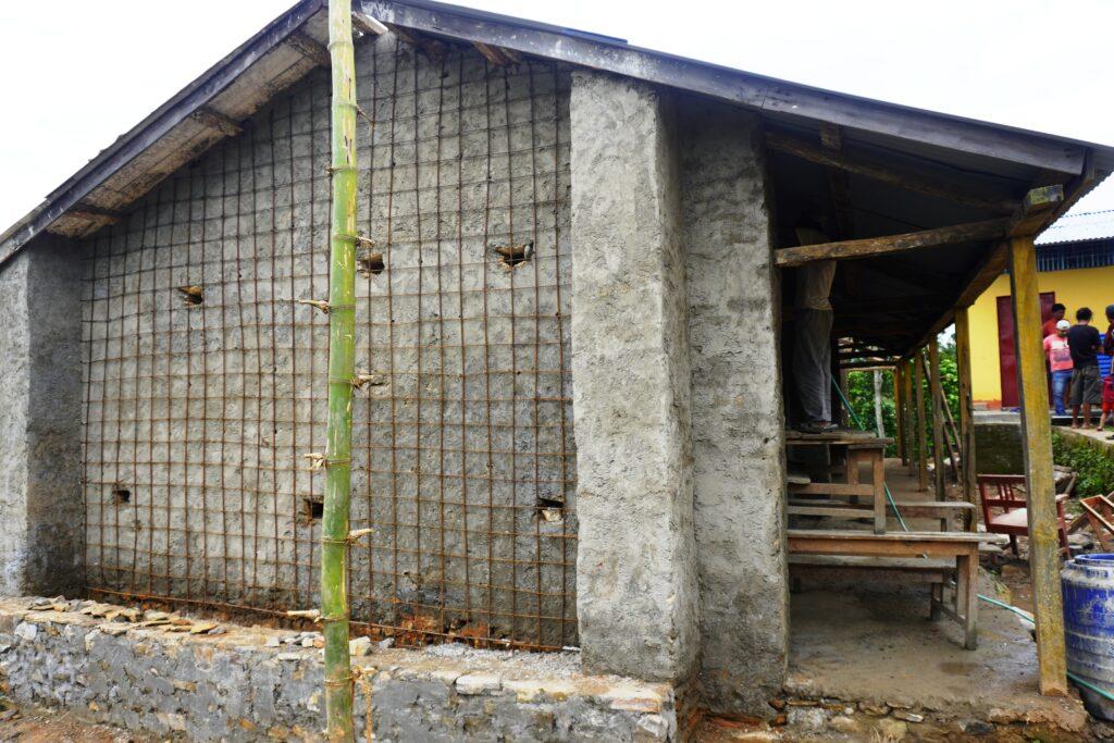 रेक्टोफिट प्रविधि मार्फत विद्यालय पुर्न निर्माण
