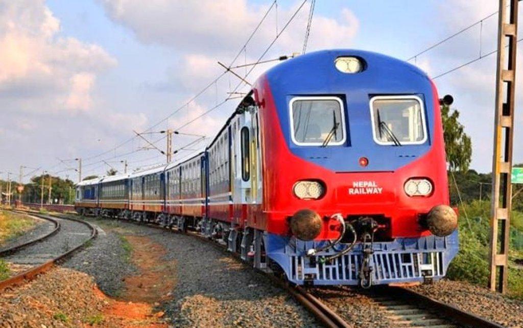 जनकपुर–जयनगर रेल्वे ट्रयाकको परीक्षण सफल