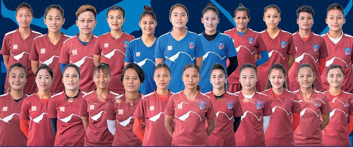 महिला मैत्रीपूर्ण फुटबल स् नेपाल र बङ्गलादेश भिड्दै
